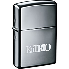 Zippo Windproof Lighter (Black Ice)