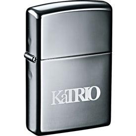 Zippo Windproof Lighter (Black Ice)