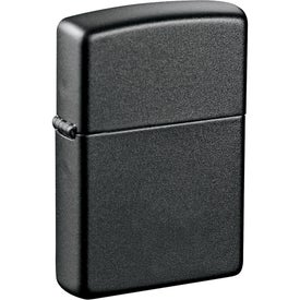 Zippo Windproof Lighter (Laser Engraved, Black)