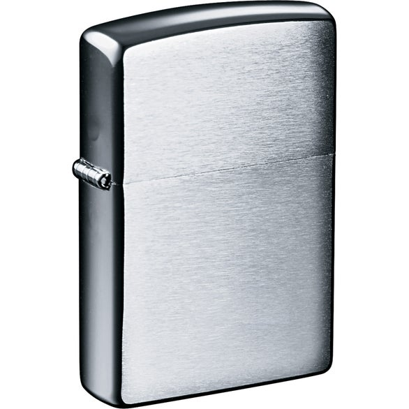 Zippo Windproof Lighter (Brushed Chrome)