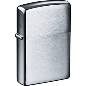 Zippo Windproof Lighter (Laser Engraved, Silver)