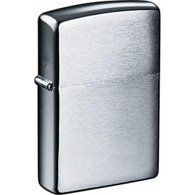 Zippo Windproof Lighter (Brushed Chrome)