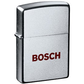 Zippo Windproof Lighter (Satin Chrome)