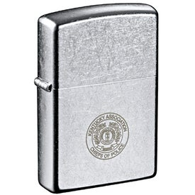 Zippo Windproof Lighter (Street Chrome)