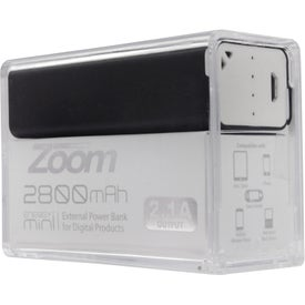 Monogrammed Zoom Energy Mini Charger