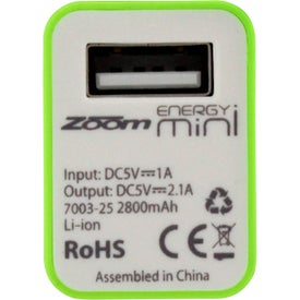 Advertising Zoom Energy Mini Charger