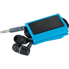 Promotional Zoom Wrap With Ear Buds