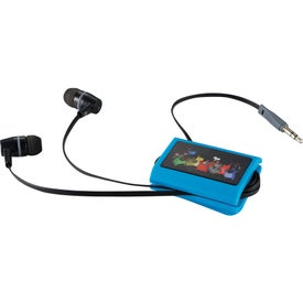 Zoom Wrap With Ear Buds Branded with Your Logo