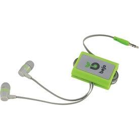 Customized Zoom Wrap With Ear Buds
