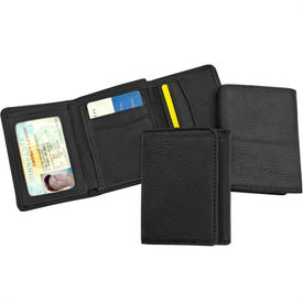 Bozeman Falls Leather Tri-Fold Wallets