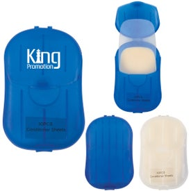 Conditioner Sheets in Compact Travel Case