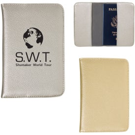 Metallic Passport Wallet