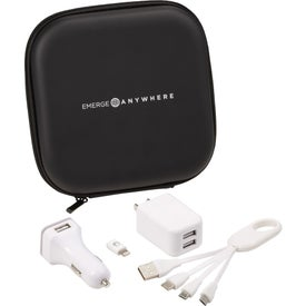 Premium Charging Travel Set
