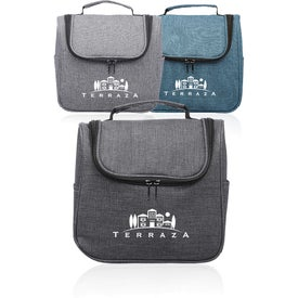 Road Trip Heathered Toiletry Bag