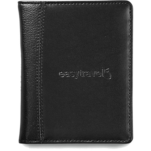 Black Samsonite Leather Passport Wallet