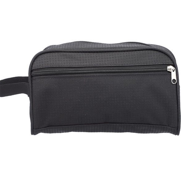 Black Sheik Toiletry Bag with Handle