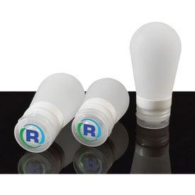 Silicone Bulb Travel Bottle (3 Oz.)