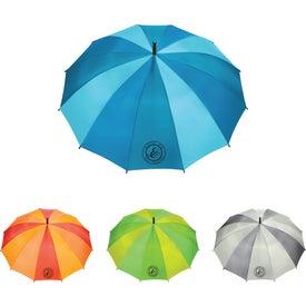 "12 Panel Auto Open Fashion Umbrella (47"" Arc)"