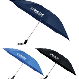 "3-Section, Folding Inversion Umbrella (46"" Arc)"