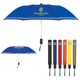 "44"" Arc Two-Tone Safety Umbrella for Your Company"