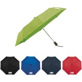 "42"" Totes 3 Section Auto Open Umbrella"