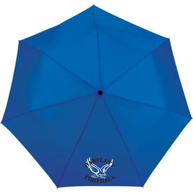 Totes 3 Section Auto Open/Close Umbrella
