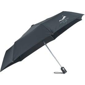 "44"" Totes SunGuard Auto Open and Close Umbrella"