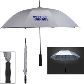 "Rain Delay Reflective Umbrella (46"")"
