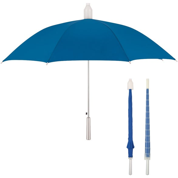 Royal Blue Umbrella with Collapsible Cover