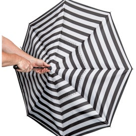 "Blanc Noir Inversion Umbrella (48"")"