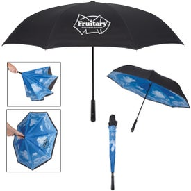 "Blue Skies Inversion Umbrella (48"")"