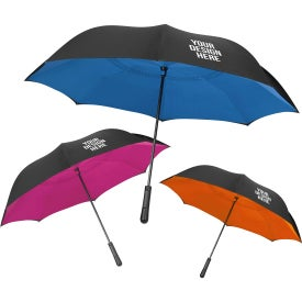 "48"" Arc Two-Tone Inversion Umbrella"