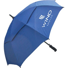 "48"" Windbuster Auto Open Umbrella Imprinted with Your Logo"