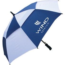 "Customized 48"" Windbuster Auto Open Umbrella"