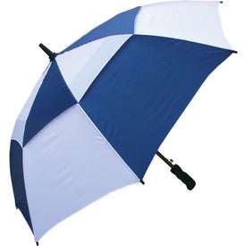 "48"" Windbuster Auto Open Umbrella with Your Slogan"