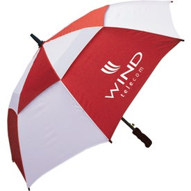 "48"" Windbuster Auto Open Umbrella for Marketing"