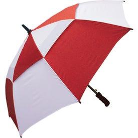 "Monogrammed 48"" Windbuster Auto Open Umbrella"