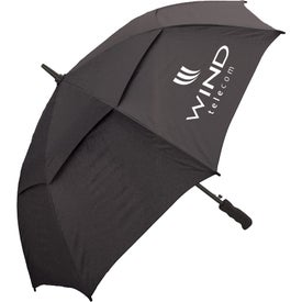 "48"" Windbuster Auto Open Umbrella Branded with Your Logo"