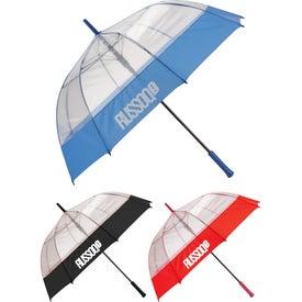 "52"" Bubble Umbrella with Fabric Hem"