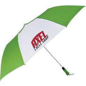 "55"" Auto Open Folding Golf Umbrella"