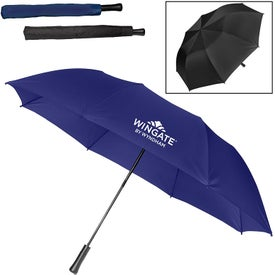 "55"" Large Auto Open Folding Umbrella"