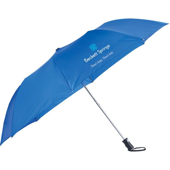 Royal Blue Totes NEVERwet Auto Open Folding Golf Umbrella
