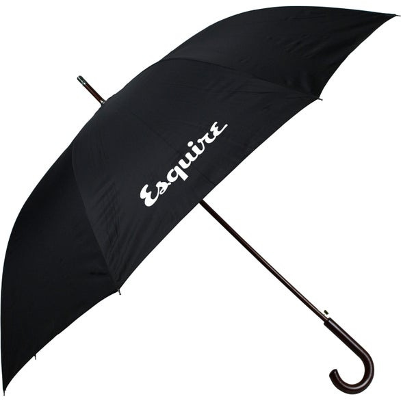 Black Esquire Hook Umbrella