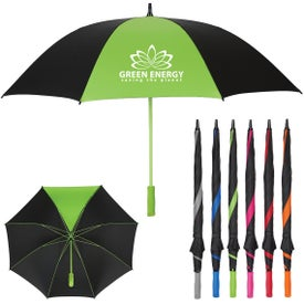 Splash of Color Golf Umbrella