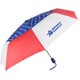 Auto Open and Close USA Umbrella