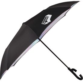 Auto Open Designer Inversion Umbrella
