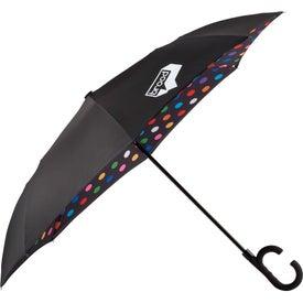 Auto Open Designer Inversion Umbrella