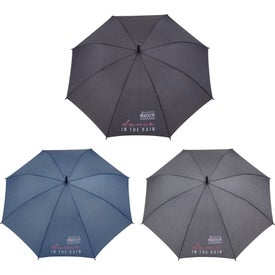 Auto Open Heathered Fashion Umbrellas