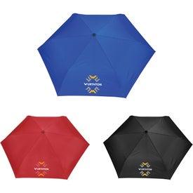 Carabiner Clip 3-Section Folding Umbrella