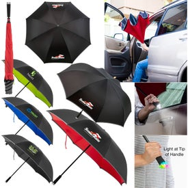 "Cumulus Reversible Light Up Umbrella (48"")"